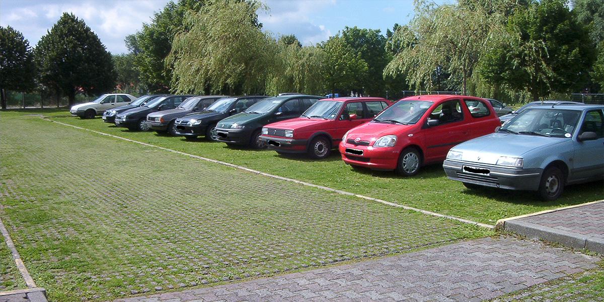 Gestion eaux pluviales_aménagement de parking