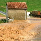 Coulée de boue à Villers Plouich - 11 septembre 2008