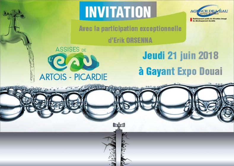 Douai, jeudi 21 juin 2018 - Assises de l'eau Artois-Picardie