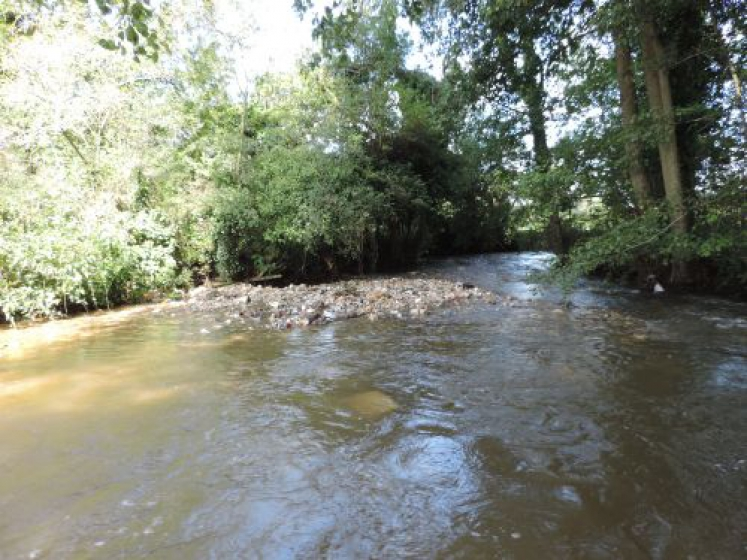 Des travaux de rétablissement de la continuité écologique de la Hem pour rétablir le bon fonctionnement de la vie aquatique