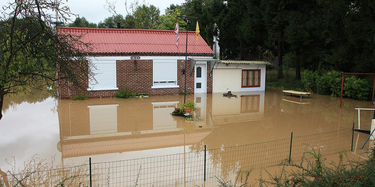 Inondation de Proville en septembre 2008
