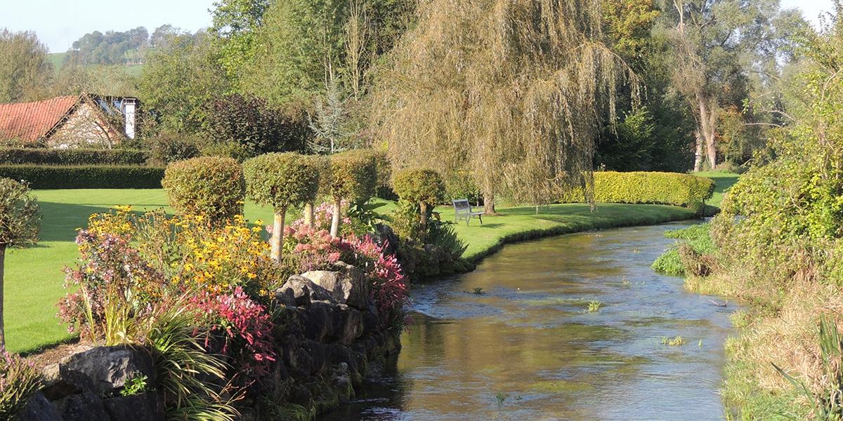 La rivière Course à Enquin-sur-Baillons (62)