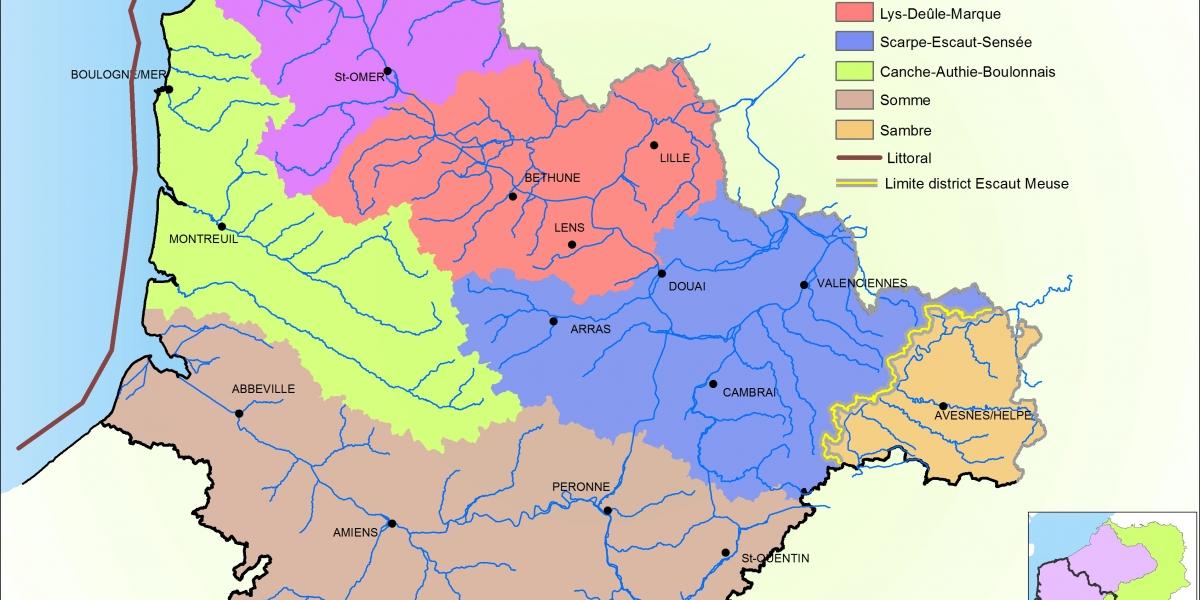 SAGE_Territoires hydrographiques cohérents