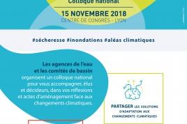 Colloque national eau et changement climatique :  une journée, des solutions