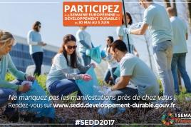 semaine européenne du développement durable du 30 mai au 5 juin 2017