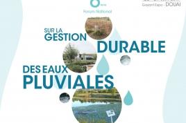6ème édition du Forum National sur la gestion durable des eaux pluviales