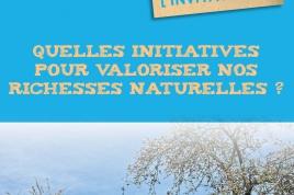 Quelles initiatives pour valoriser nos richesses naturelles?