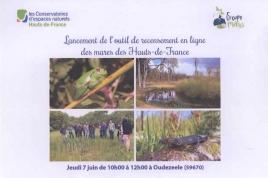 Lancement de l'outil de recensement en ligne des mares des Hauts-de-France