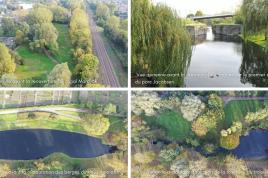 Travaux de restauration de l'ancien canal de Mardyck et du parc Jacobsen