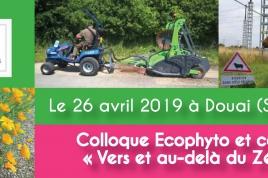 """colloque Ecophyto et collectivités """"vers et au-delà du Zéro phyto"""""""